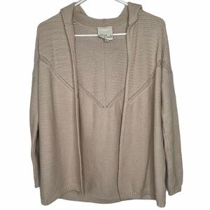 Olive & Oak Open Front Cardigan